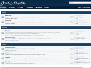 Screenshot of advertise.jcink.net