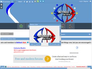 Screenshot of betheasbyte.forumotion.com