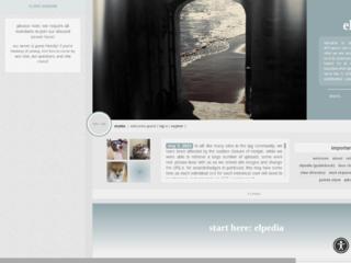 Screenshot of elpida.jcink.net