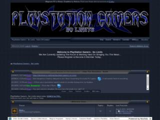 Screenshot of playstationgamers.jcink.net